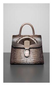 Delvaux Camaieux Tourterelle Wild Beast Brillant Black Edition Bag