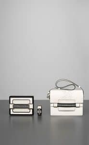 Delvaux Ivory Madame Minaudiere and Manchette Madame Bags