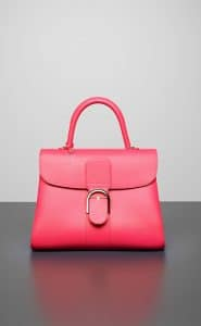 Delvaux Rose Candy Brillant GM Bag