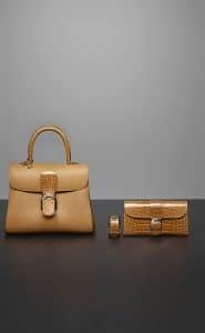 Delvaux Vegetal Brillant MM / Manchette Brillant / Brillant Portefeuille Long Bags