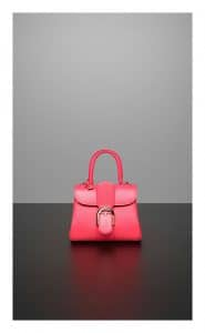 Delvaux Rose Candy Brillant Mini Bag