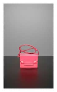 Delvaux Rose Candy Madame Mini Bag