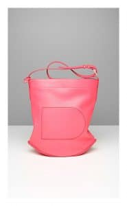 Delvaux Rose Candy Pin Bag