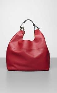 Delvaux Rouge de Pourpre Givry With Me Bag