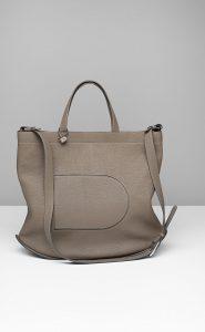 Delvaux Tourterelle Pin Cabas Bag