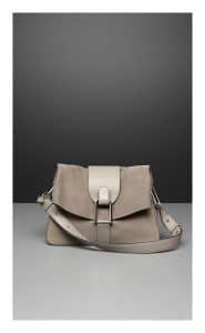 Delvaux Tourterelle Polo/Nubuck/Cheyenne Givry Bag