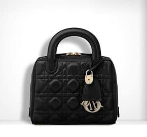 Dior Black Lambskin Lily Bag