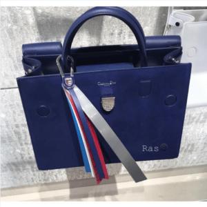 Dior Blue Suede Diorever Bag