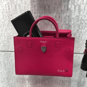 Dior Pink Bullcalf Leather Diorever Bag