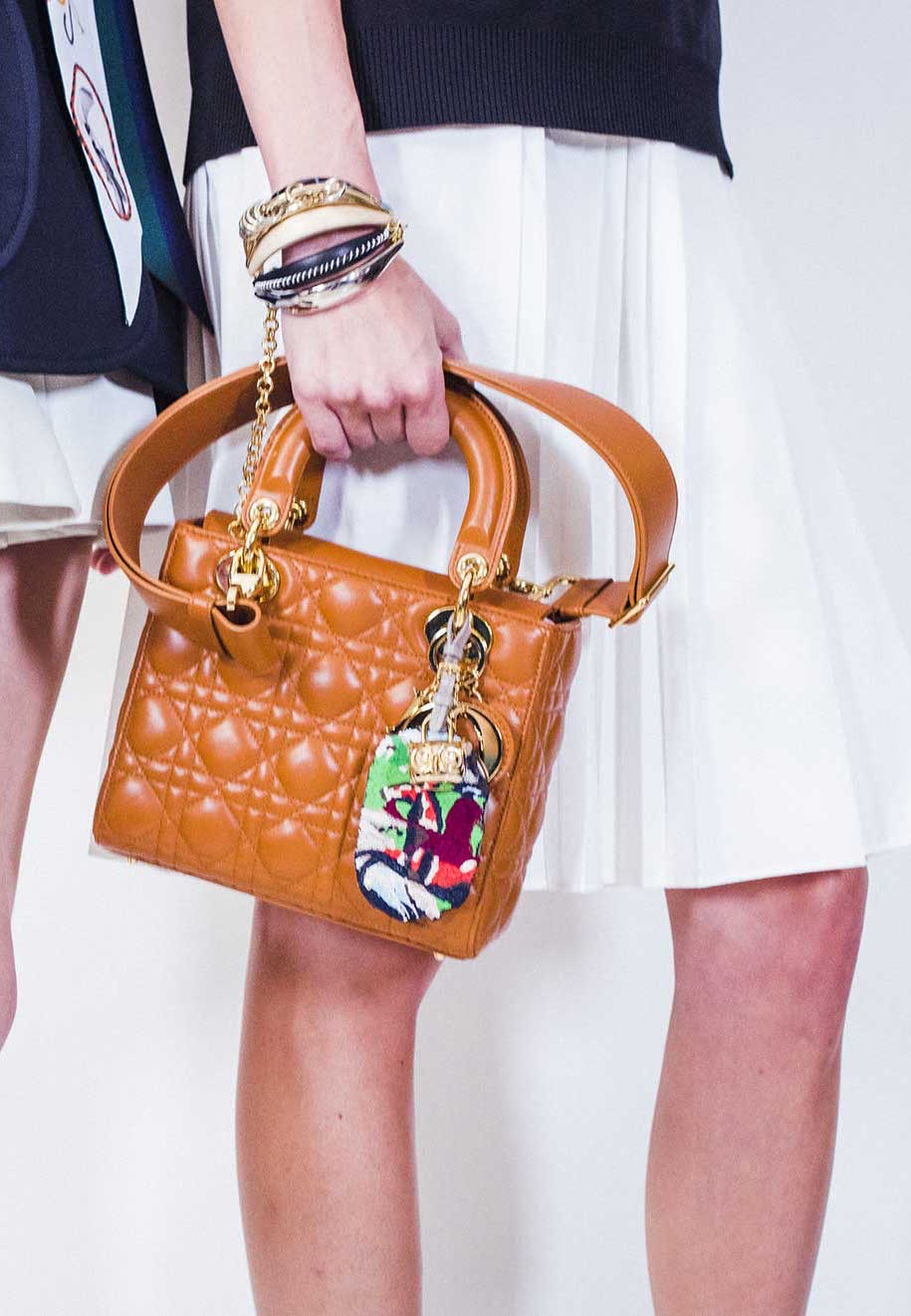 New Small Lady Dior Bag From Cruise 2017 Spotted Fashion