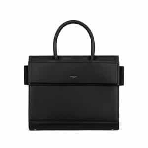 Givenchy Black Matte Smooth Leather Small Horizon Bag