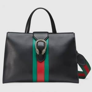 Gucci Black Dionysus Large Top Handle Bag