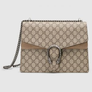 Gucci GG Supreme Medium Dionysus Shoulder Bag