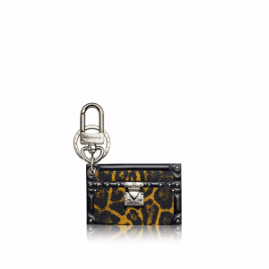 Louis Vuitton Animal Print Petite Malle Bag Charm and Key Holder