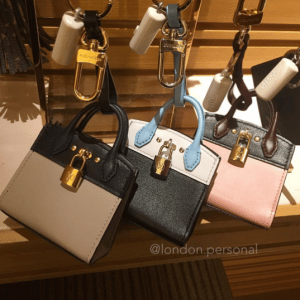 Louis Vuitton City Steamer Bag Charm and Key Holder 3