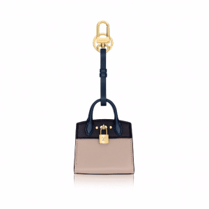 Louis Vuitton Galet City Steamer Bag Charm and Key Holder