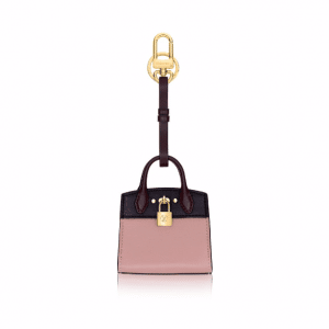 Louis Vuitton Magnolia City Steamer Bag Charm and Key Holder