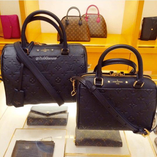 size guide of the louis vuitton speedy 20 in empreinte leather  u2013 spotted fashion
