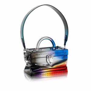 Louis Vuitton Multicolor Hologram Metallic Calfskin City Trunk PM Bag