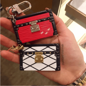 Louis Vuitton Petite Malle Bag Charm and Key Holder