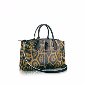 Louis Vuitton Wild Animal Print City Steamer EW Bag