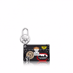 Louis Vuitton World Tour Petite Malle Bag Charm and Key Holder