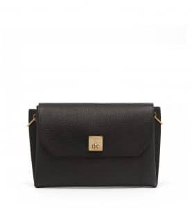 MCM Black Milla Clutch Bag
