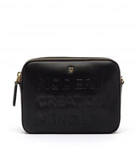 MCM Black Repro Crossbody Bag