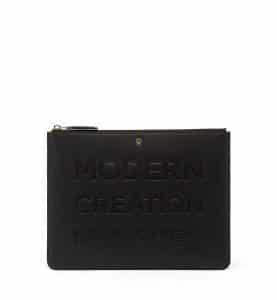 MCM Black Repro Pouch Bag
