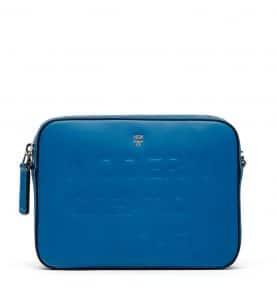 MCM Munich Blue Repro Crossbody Bag