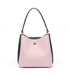 MCM Pale Mauve/Blue Milla Hobo Bag