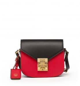 MCM Ruby Red Mini Patricia Crossbody Bag