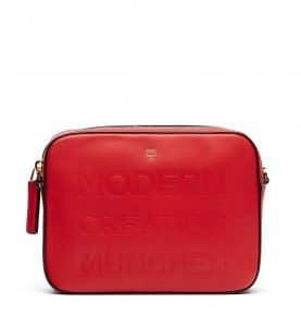 MCM Ruby Red Repro Crossbody Bag