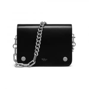 Mulberry Black Crossboarded Calf Leather Clifton Bag