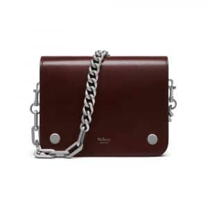 Mulberry Burgundy Crossboarded Calf Leather Clifton Bag