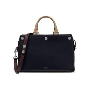 Mulberry Midnight/Oxblood:Dune Smooth Calf Chester Bag
