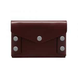 Mulberry Oxblood Smooth Calf Envelope Pouch Bag