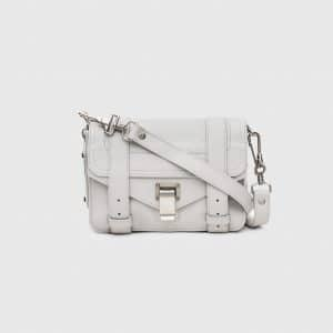 Proenza Schouler Pale Steel PS1 Mini Crossbody Bag