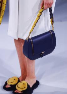 Anya Hindmarch Blue Vere Satchel Bag - Spring 2017