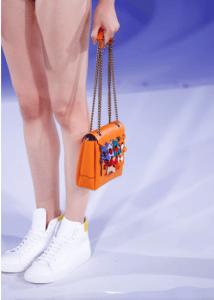 Anya Hindmarch Orange Bathurst Shoulder Bag - Spring 2017