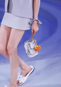 Anya Hindmarch Silver Circulus Mini Vere Bag - Spring 2017