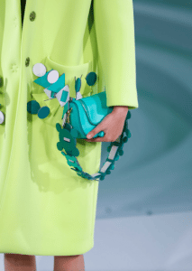 Anya Hindmarch Turquoise Mini Vere Bag - Spring 2017