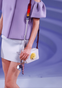 Anya Hindmarch White Smiley Mini Camera Bag - Spring 2017
