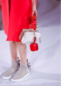 Anya Hindmarch White/Beige Stack Crossbody Bag - Spring 2017