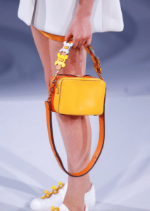 Anya Hindmarch Yellow/Orange Stack Crossbody Bag - Spring 2017