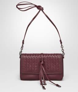 Bottega Veneta Barolo Nappa Intrecciato Shoulder Bag