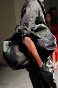 Bottega Veneta Black/Brown/Green Tote Bag - Spring 2017