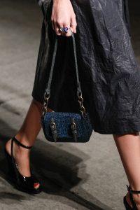 Bottega Veneta Blue Mini Flap Bag - Spring 2017