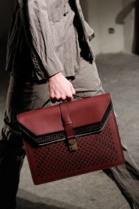 Bottega Veneta Burgundy Briefcase Bag - Spring 2017