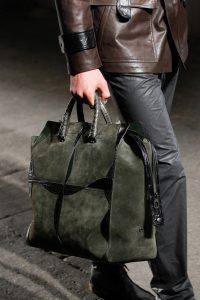 Bottega Veneta Dark Gray/Black Large Tote Bag - Spring 2017